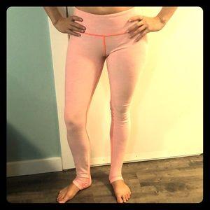Lululemon Neon long yoga pants 8